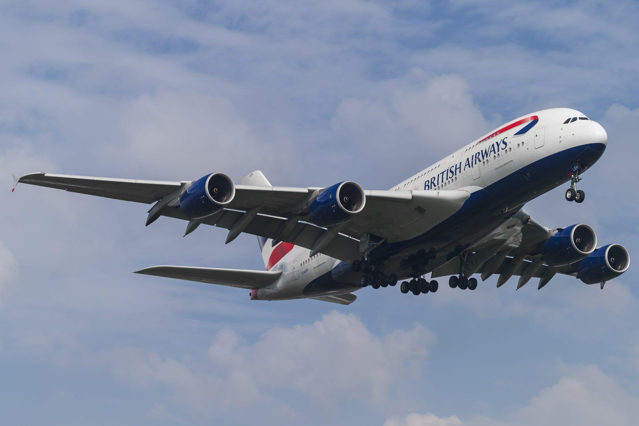 En Airbus A380-800 fra British Airways. Foto: © Thorbjørn Brunander Sund, Danish Aviation Photo