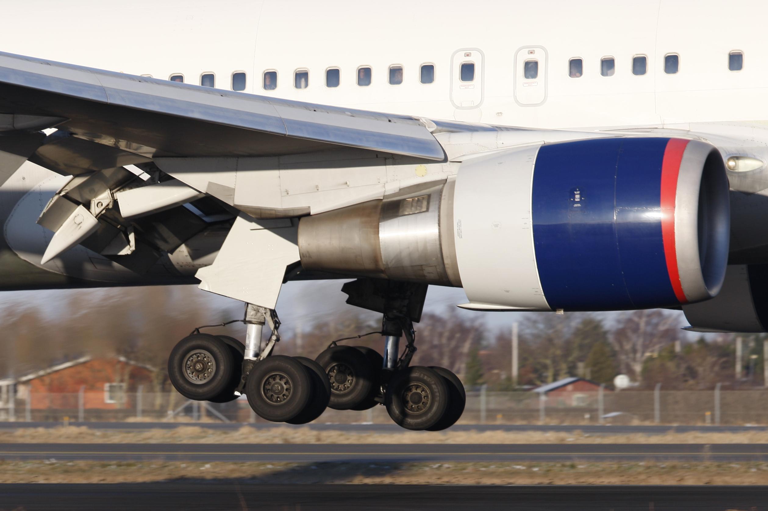Boeing 767-300ER fra Delta Airl Lines under landing i Københavns Lufthavn. Foto: © Thorbjørn Brunander Sund, Danish Aviation Photo)
