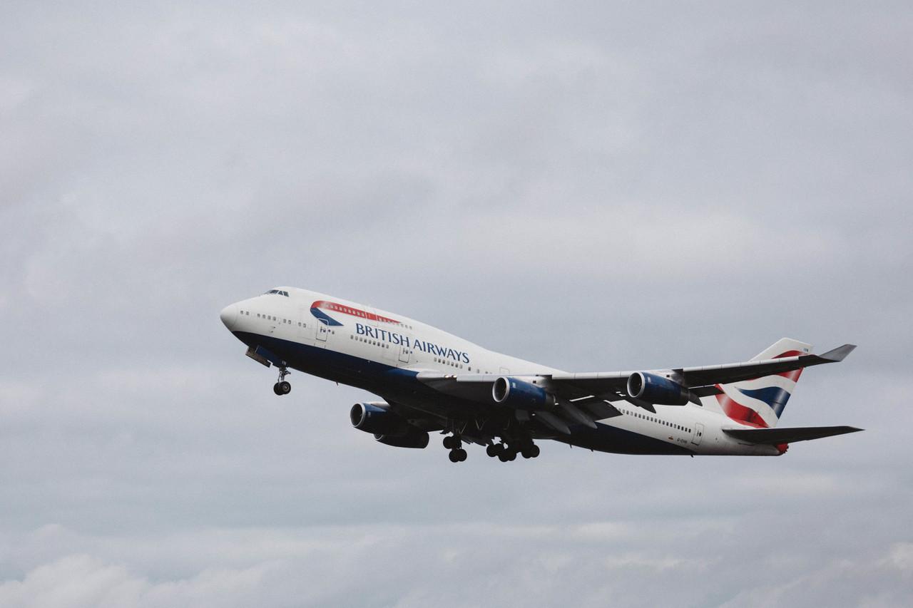 En Boeing 747-400 fra British Airways. Foto: British Airways