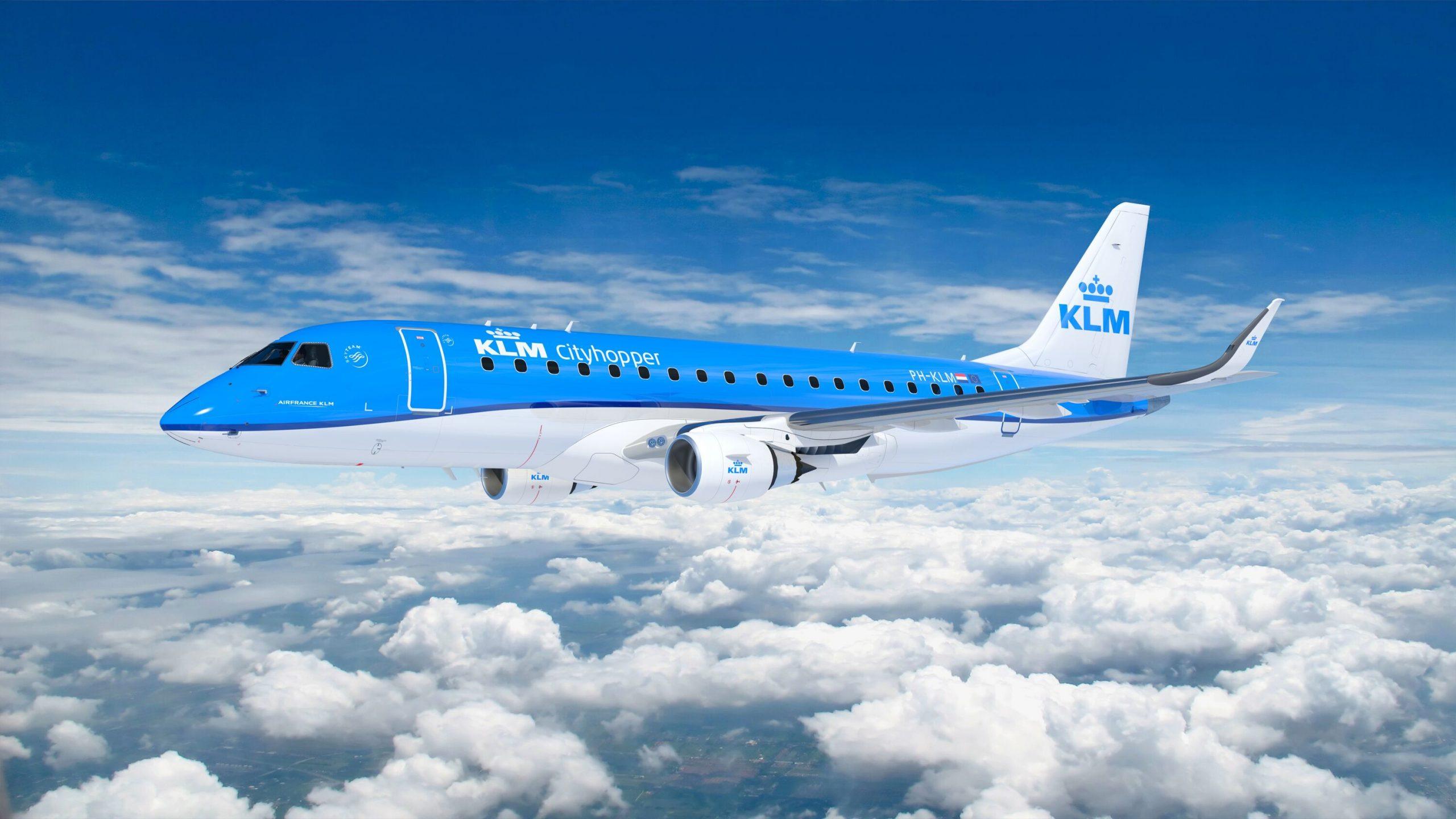 Embraer E175 fra KLM. (Foto: KLM | PR)