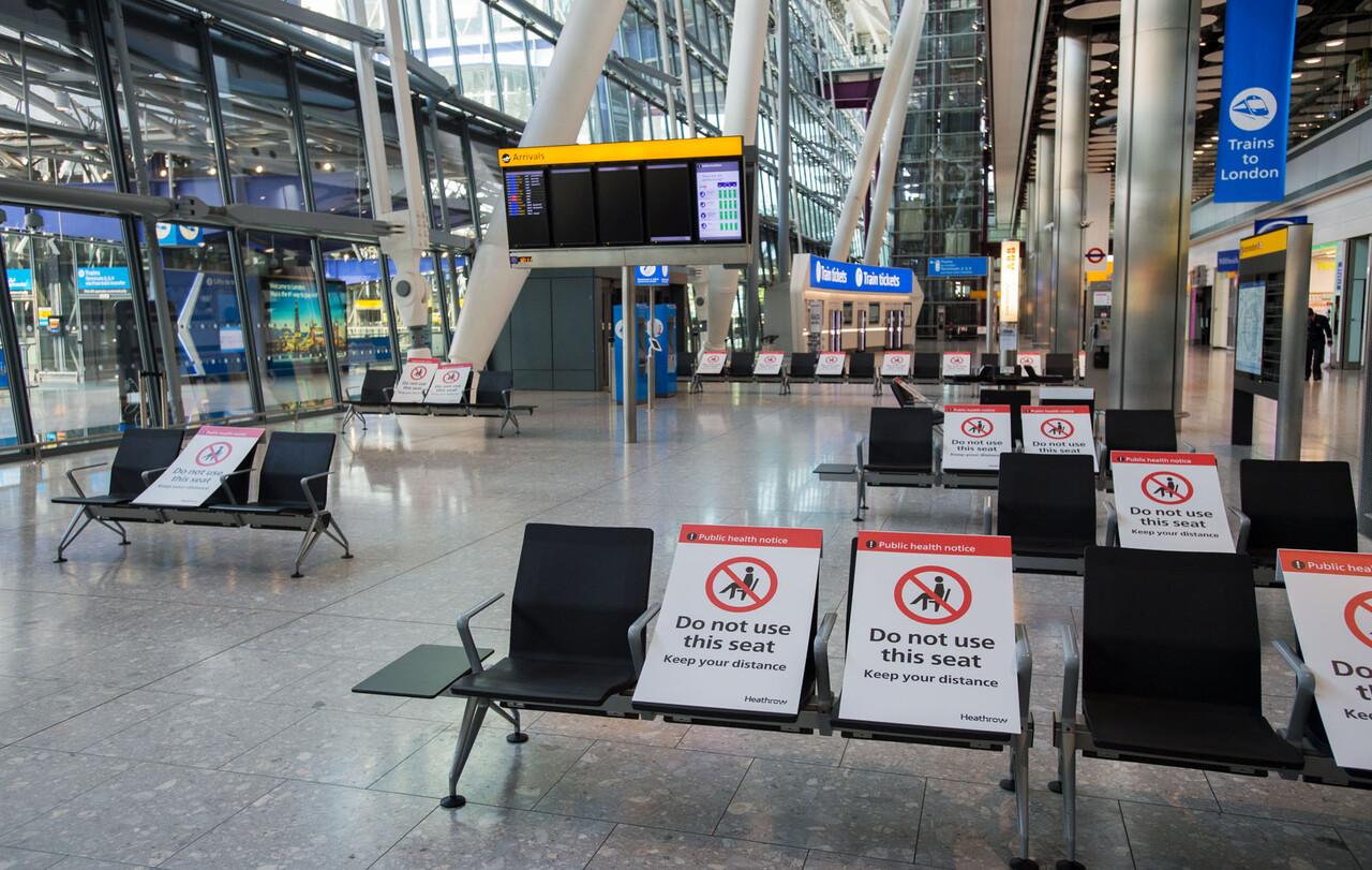 Terminal 5A i London Heathrow Airport. Foto: London Heathrow Airport