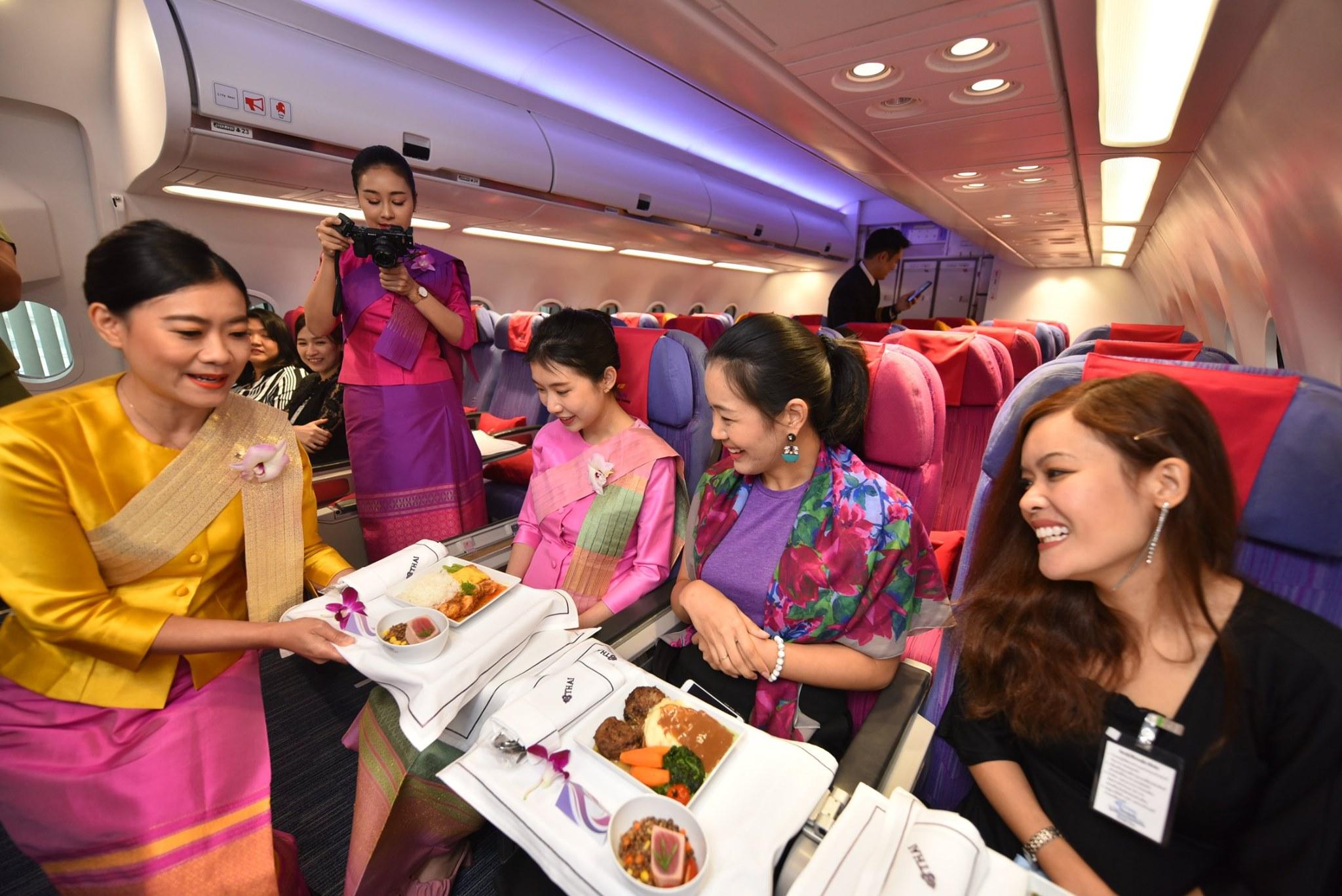 Thai Airways inviterer private indenfor til underholdende oplevelser. Foto: Thai Airways