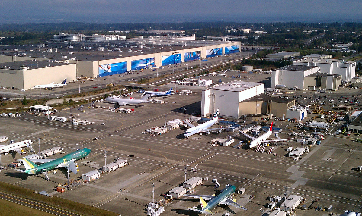 Boeing Everett Factory nær Seattle. (Foto: Jeremy Elson | CC 3.0)