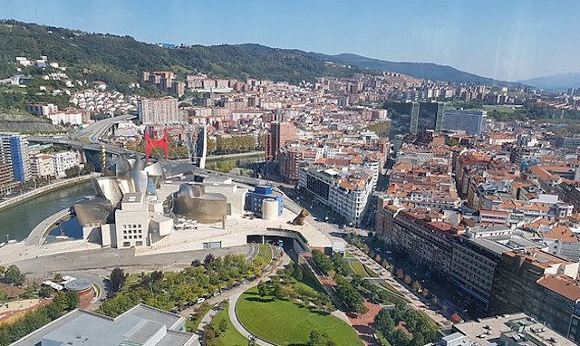 Bilbao er den største by i Baskerlandet. Foto: Wikimedia Commons