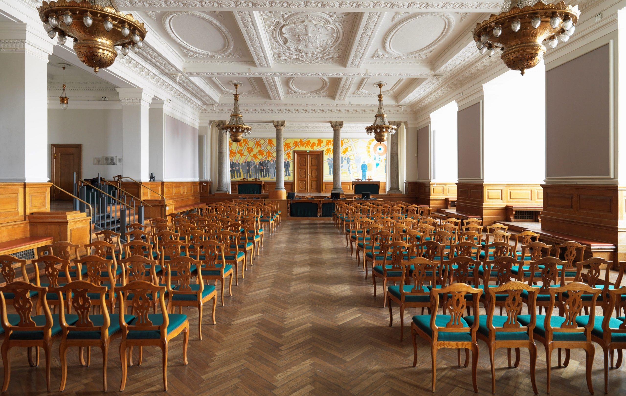 Fællessalen på Christiansborg (Foto: Anders Hviid)