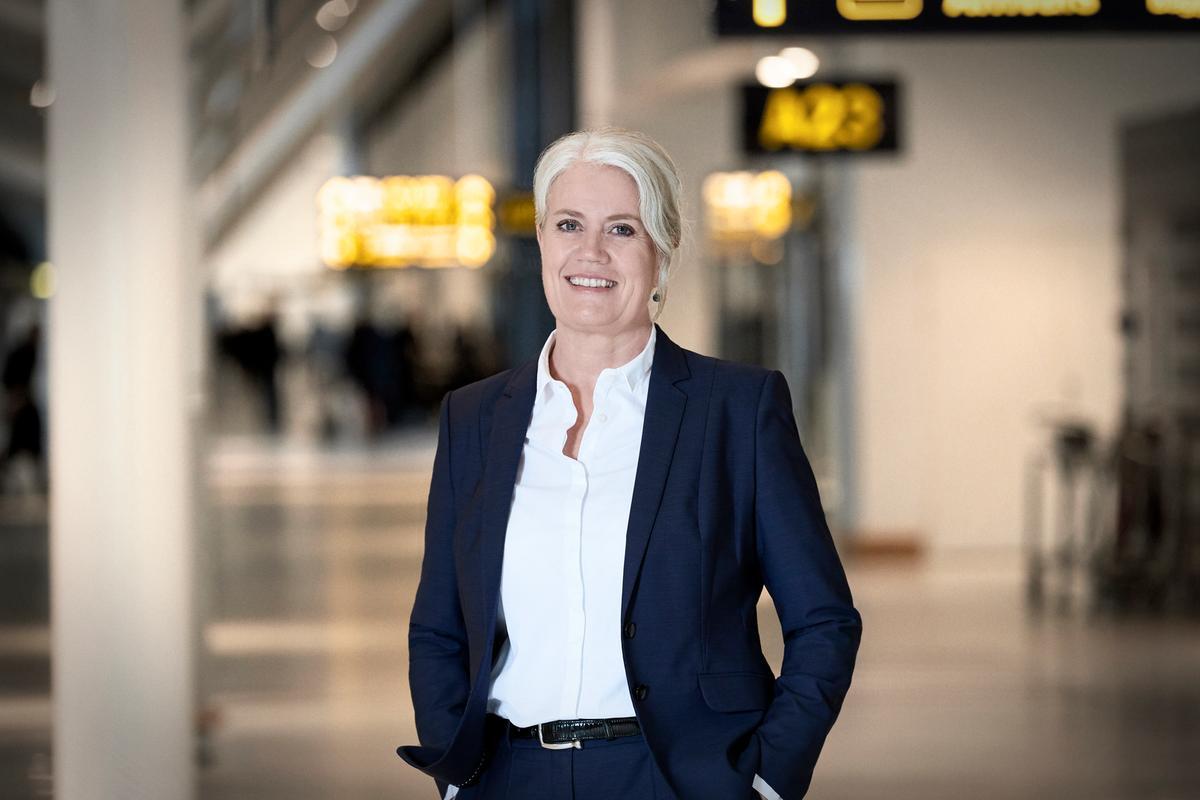 Kirstine Bergenholtz, HR-direktør i Københavns Lufthavne A/S. (Foto: CPH | PR)