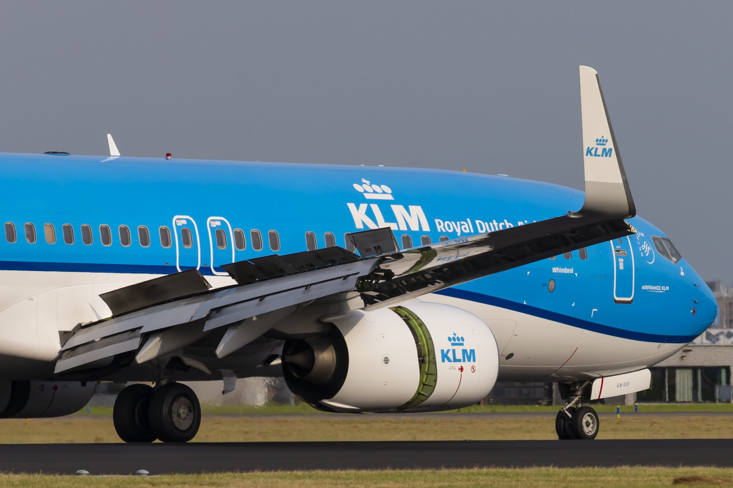 En Boeing 737-800 fra KLM. Foto: © Thorbjørn Brunander Sund, Danish Aviation Photo