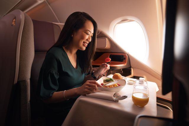Nu kan man opleve Singapore Airlines kulinariske niveau – også uden at flyve. Foto: SIA