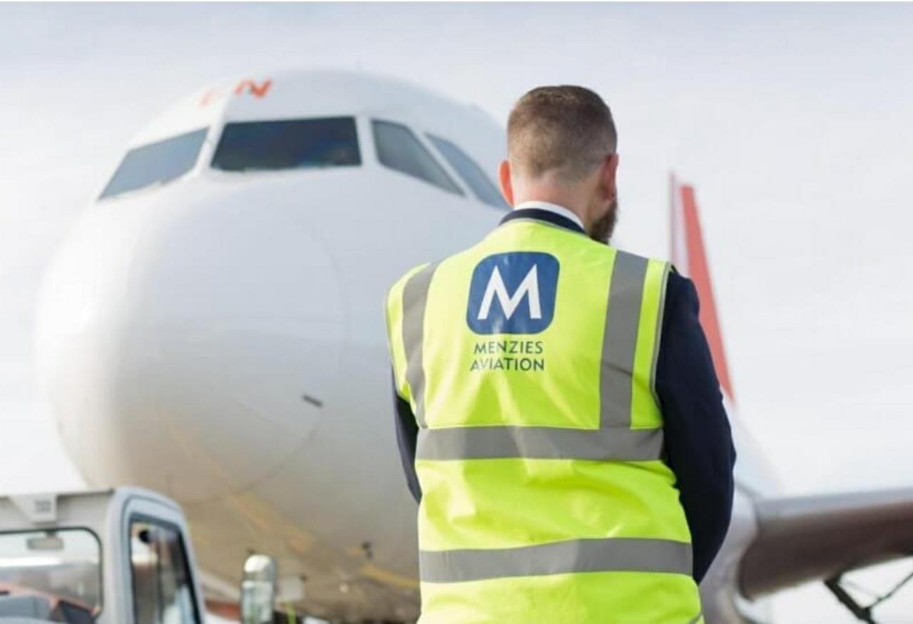 Thomas Hoff Andersson er ny direktør for Menzies Aviation i Skandinavien. (Privatfoto)