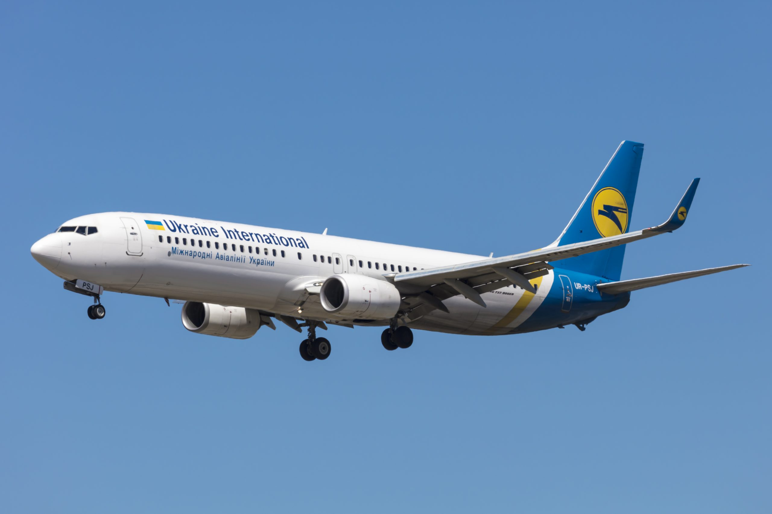 En Boeing 737-900ER fra Ukraine International Airlines. Foto: © Thorbjørn Brunander Sund, Danish Aviation Photo