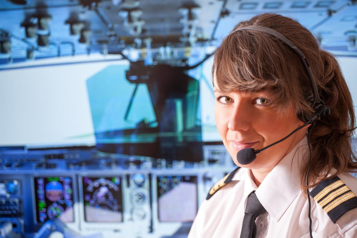 Kun 5,2 procent af verdens piloter er kvinder. (Foto: iStock –  166111211 – humonia)