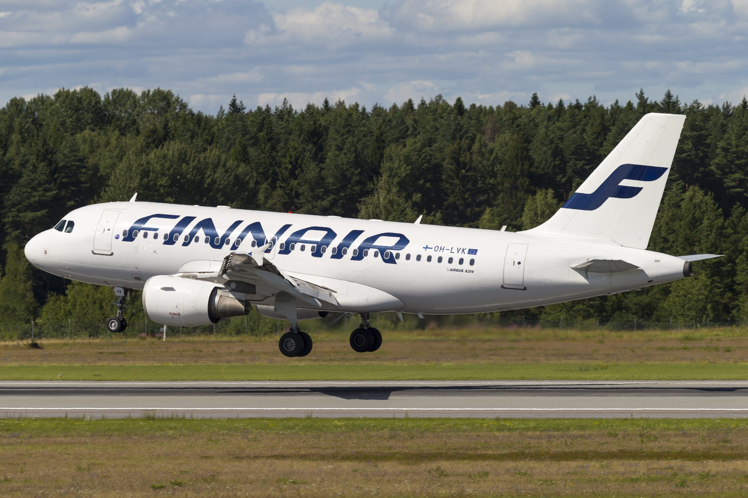 En Airbus A319-100 fra Finnair. Foto: © Thorbjørn Brunander Sund, Danish Aviation Photo