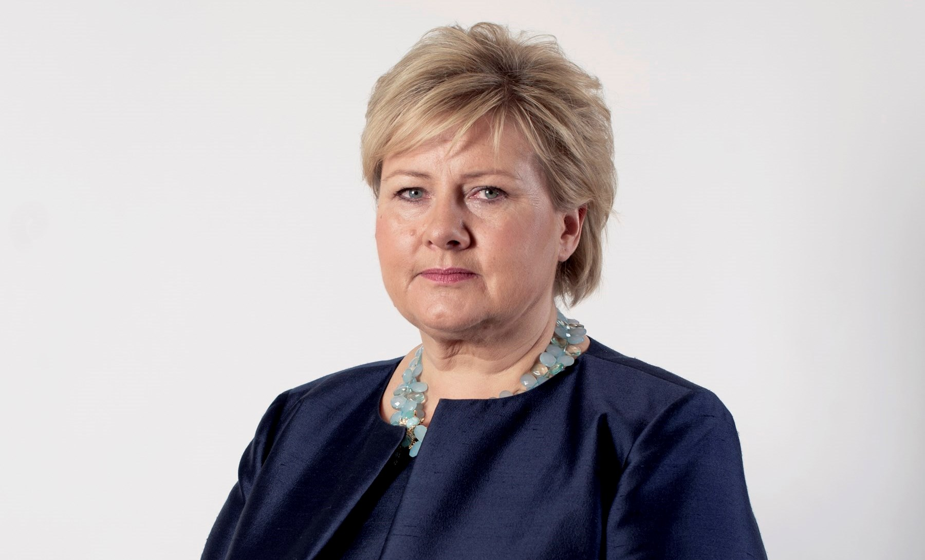 Norges statsminister Erna Solberg fra partiet Høyre. (Foto: Thomas Haugersveen/Statsministerens kontor)