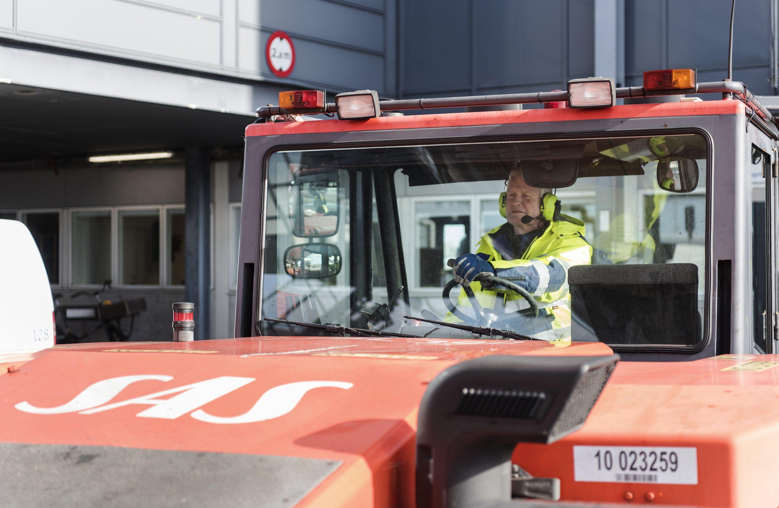 SAS Ground Handling opererer i Oslo, Stockholm og København. (Foto: SAS | PR)