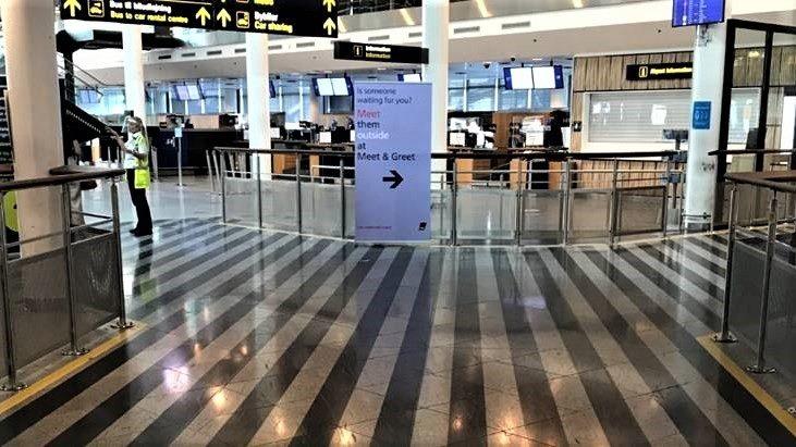 Der er tomt i stueetagen i København Lufthavns Terminal 3. (Foto: CPH)