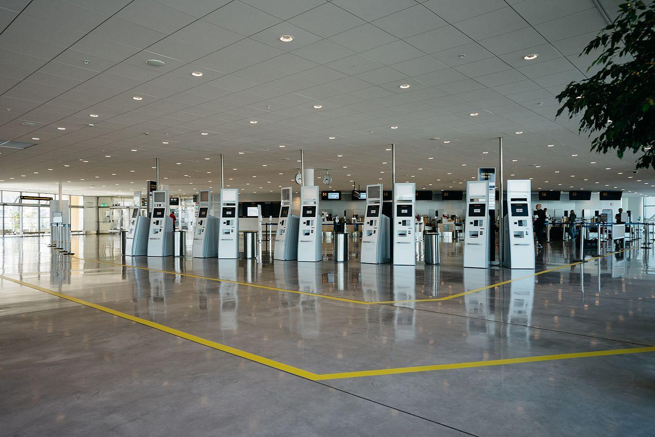 Check-in området i Stockholm Arlanda Terminal 2. (Foto: Markus Winkler | CC 4.0)