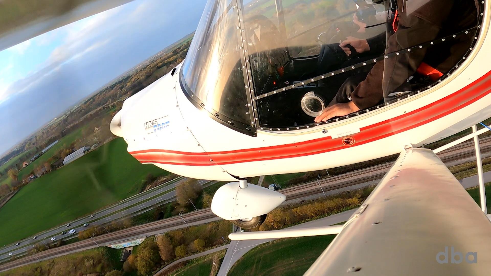 Et ultralet fly af typen Jora UA2 er helt usædvanligt sat til salg på DBA. Foto: DBA Guide
