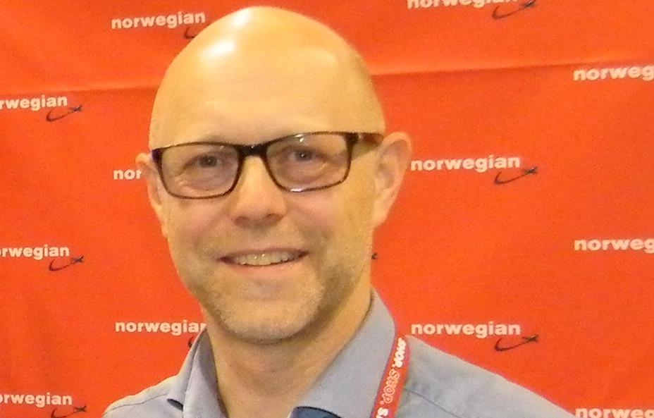 Frank Nordbjerg Olesen, forlader Norwegian efter 11 år som salgschef i Danmark. (Foto: Henrik Baumgarten)
