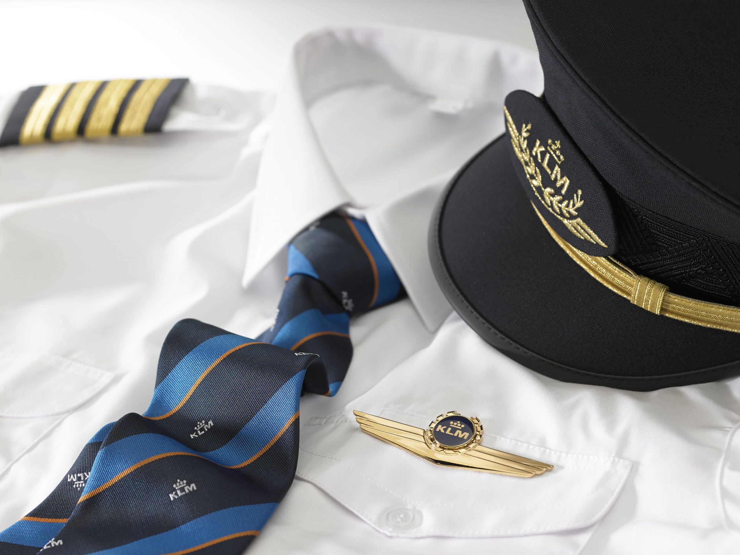 Kaptajnsuniform fra KLM. (Foto: KLM | PR)