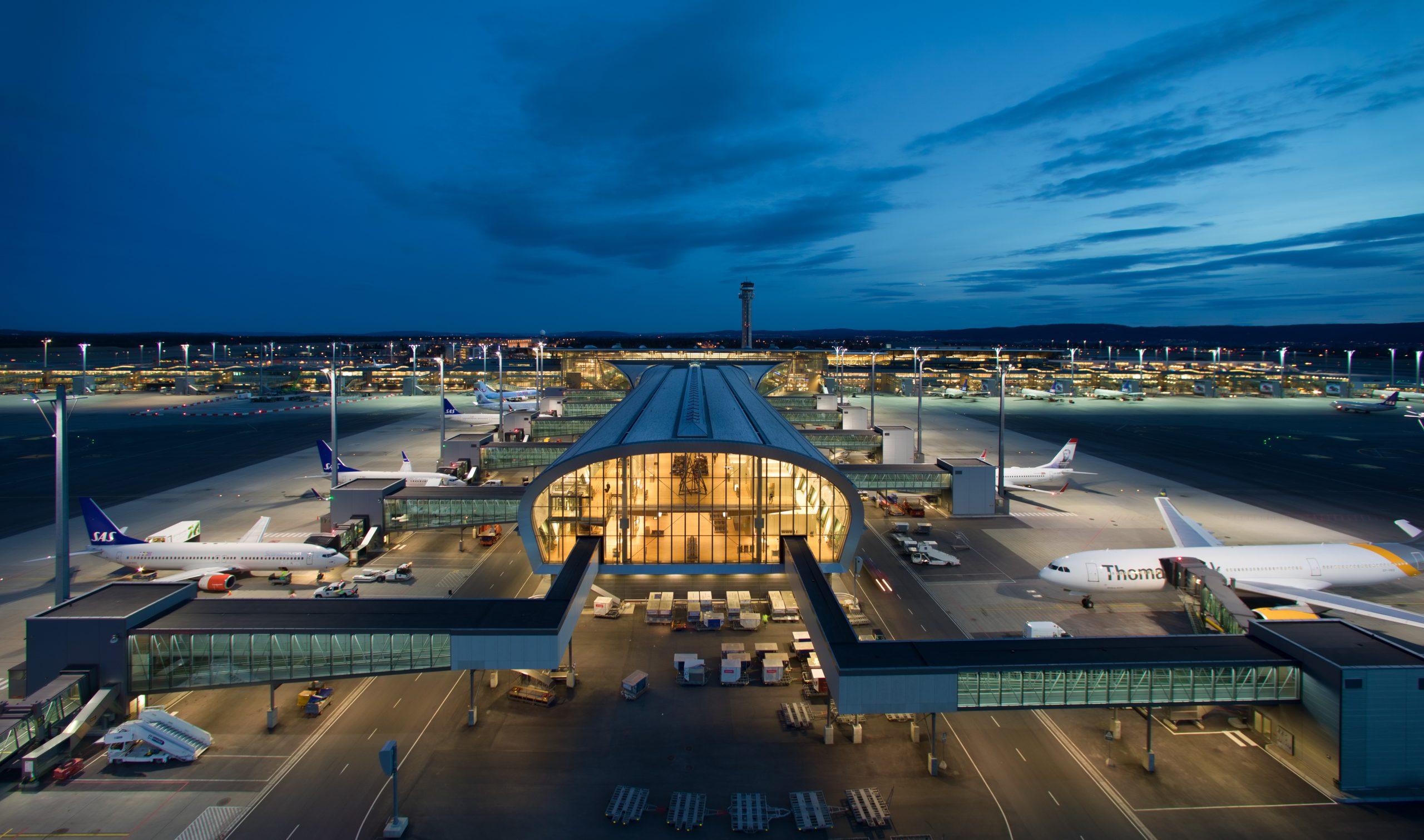 Pier Nord i Oslo Lufthavn. Foto: Espen Solli/Avinor/Oslo Lufthavn, CC 3.0