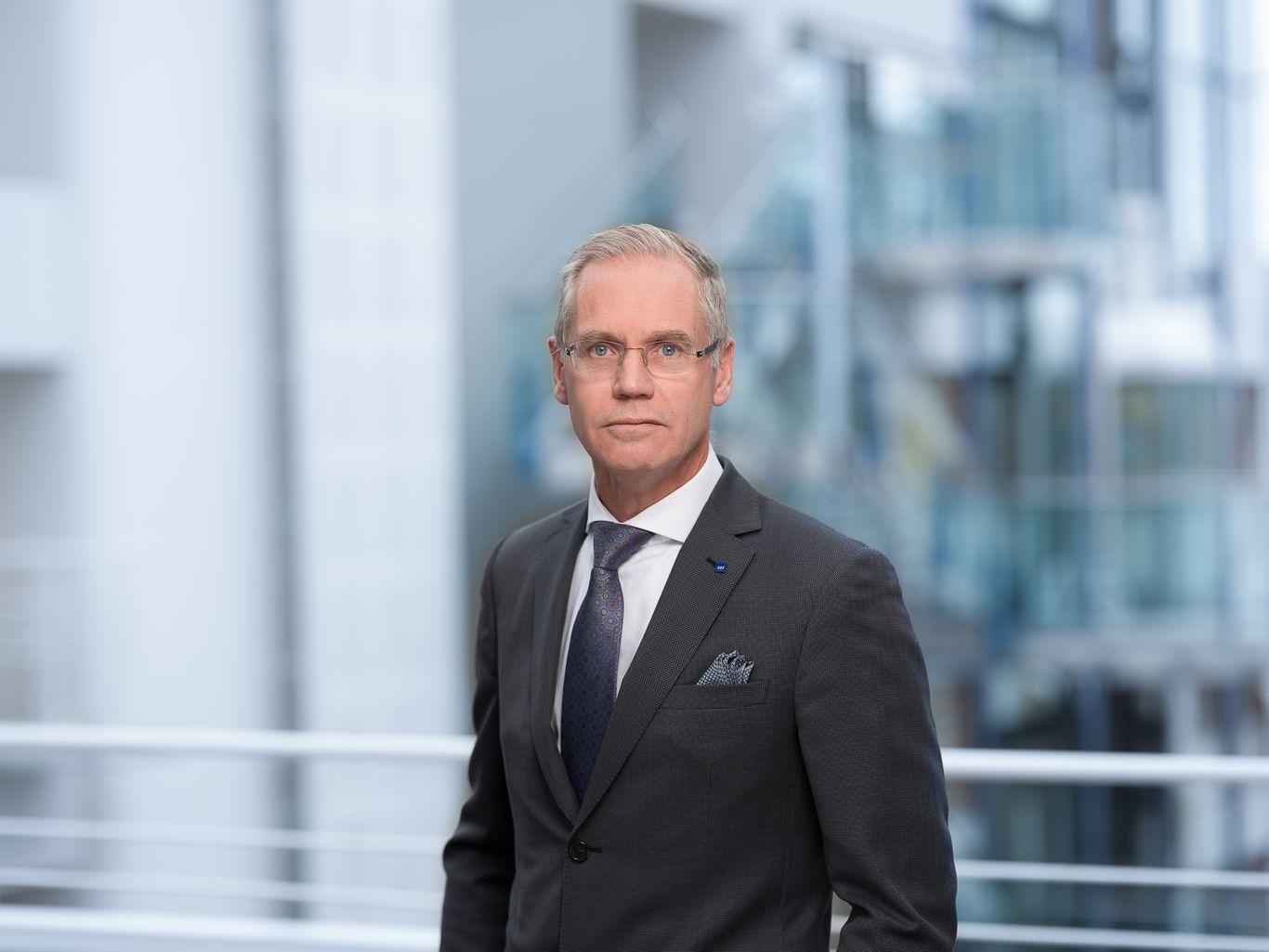 Koncernchef Rickard Gustafson fra SAS. (Foto: SAS AB)
