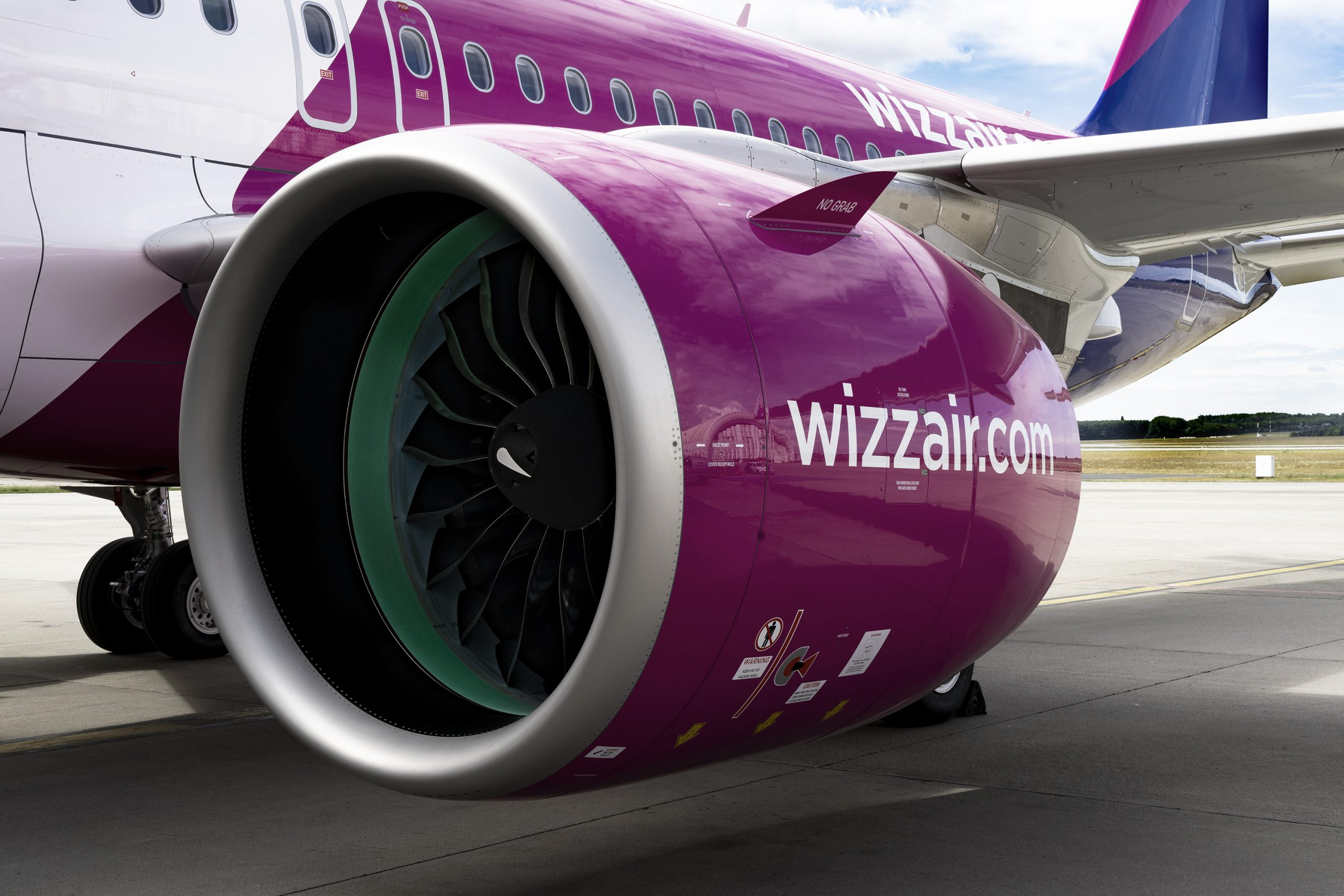 Airbus A320-200neo fra Wizz Air. (Foto: Wizz Air | PR)