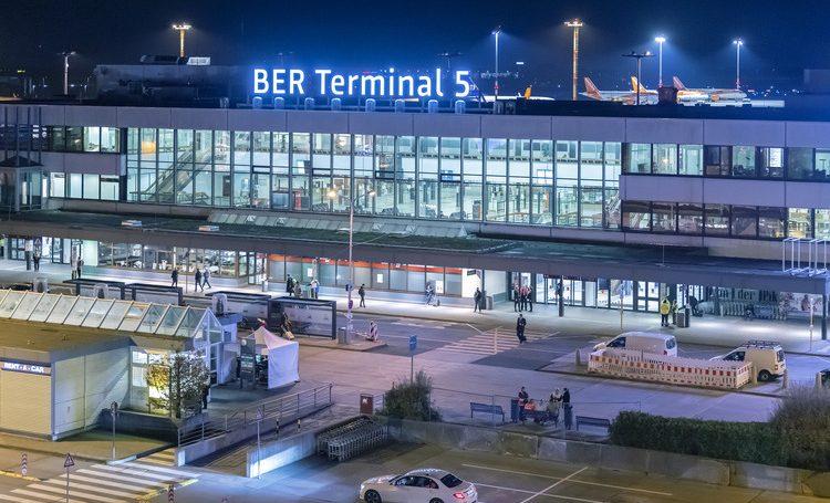 Terminal 5 i Berlin Brandenburg Airport. Foto: Flughafen Berlin Brandenburg (FBB)