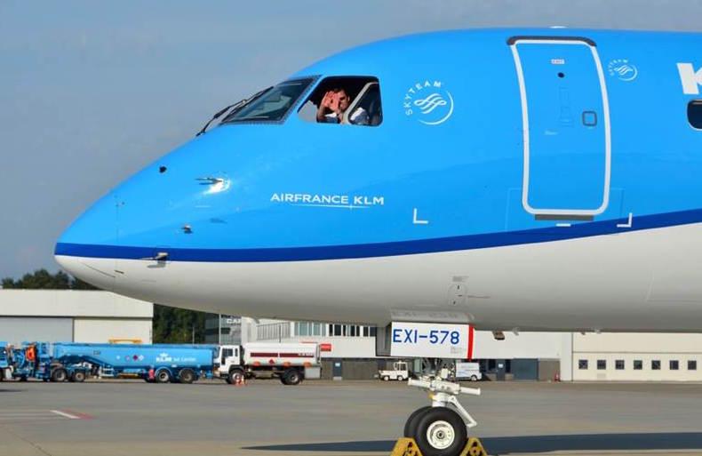 En Embraer 175 fra KLM. Foto: KLM