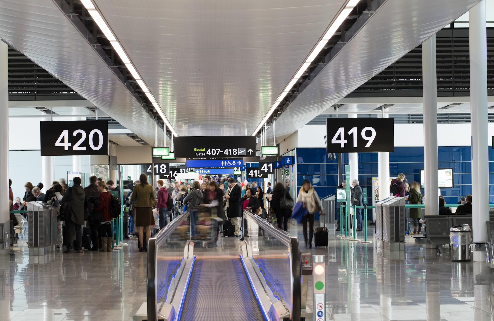 Terminal 2 i Dublin Airport. Foto: Dublin Airport