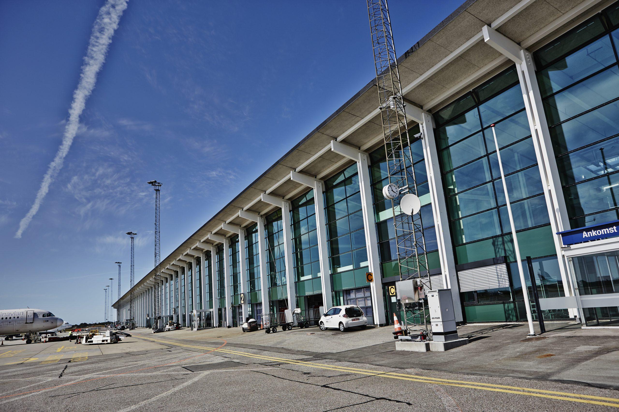 Terminalbygingen i Aalborg Lufthavn. (Foto: Aalborg Lufthavn | PR)