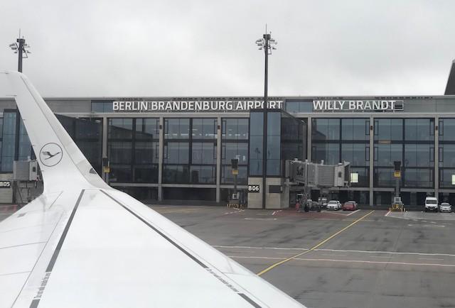 Lufthansa-fly i Berlin Brandenburg Airport. Foto: Lufthansa