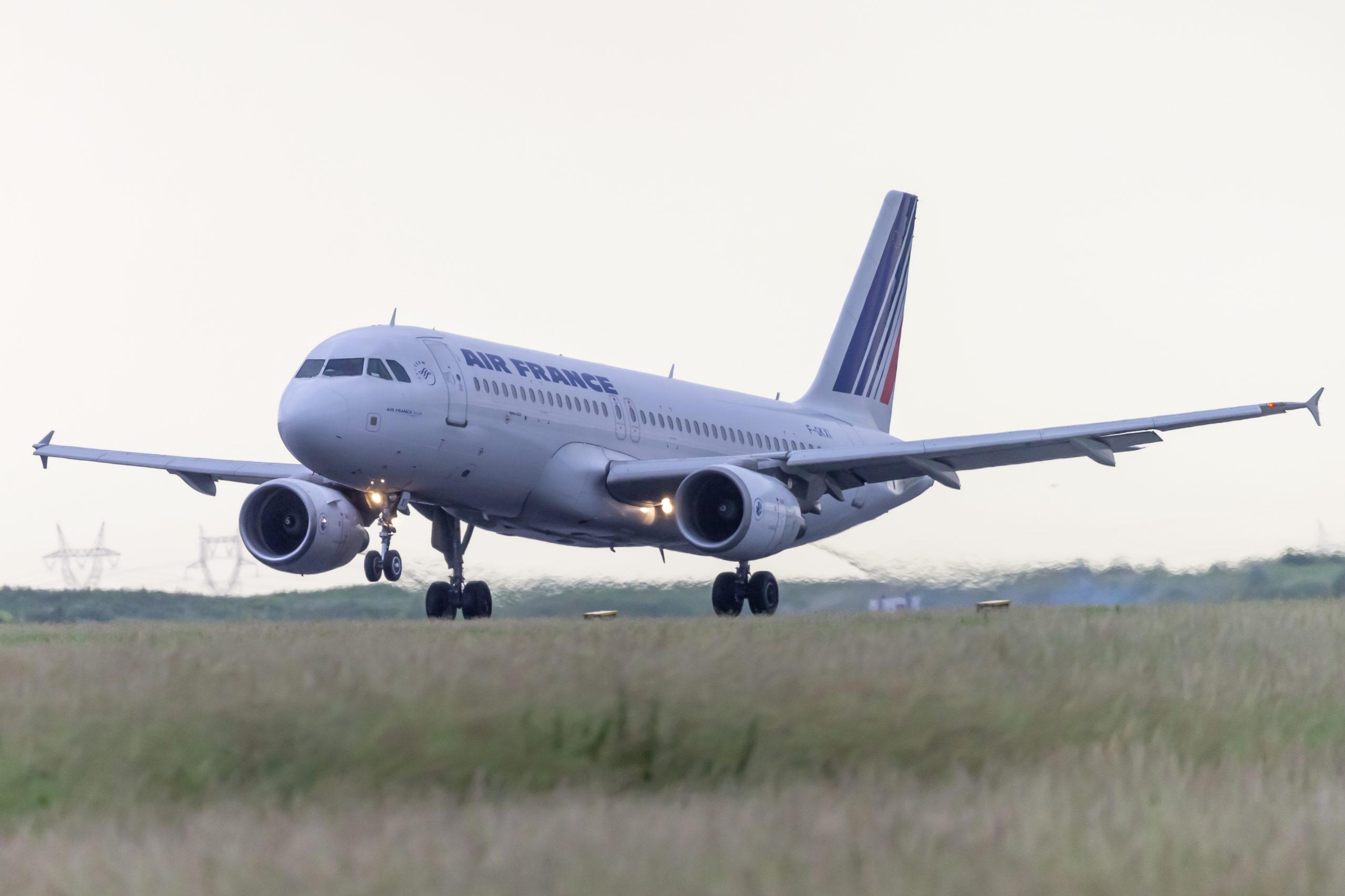 En Airbus A320-200 fra Air France. Foto: © Thorbjørn Brunander Sund, Danish Aviation Photo