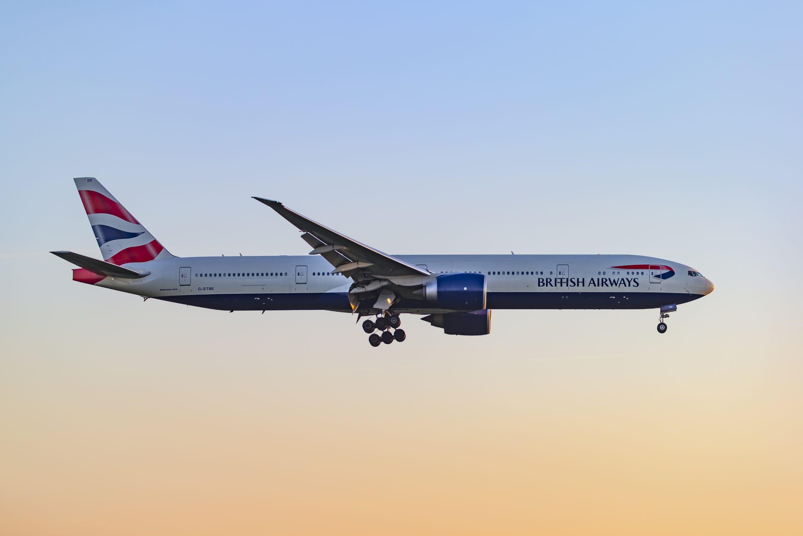 Boeing 777-300ER fra British Airways. (Foto: © Thorbjørn Brunander Sund | Danish Aviation Photo)