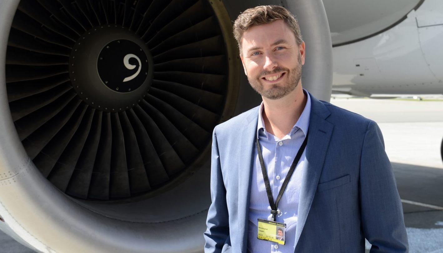 Jesper Klausholm, marketingchef i Billund Lufthavn. (Foto: Joakim J. Hvistendahl)