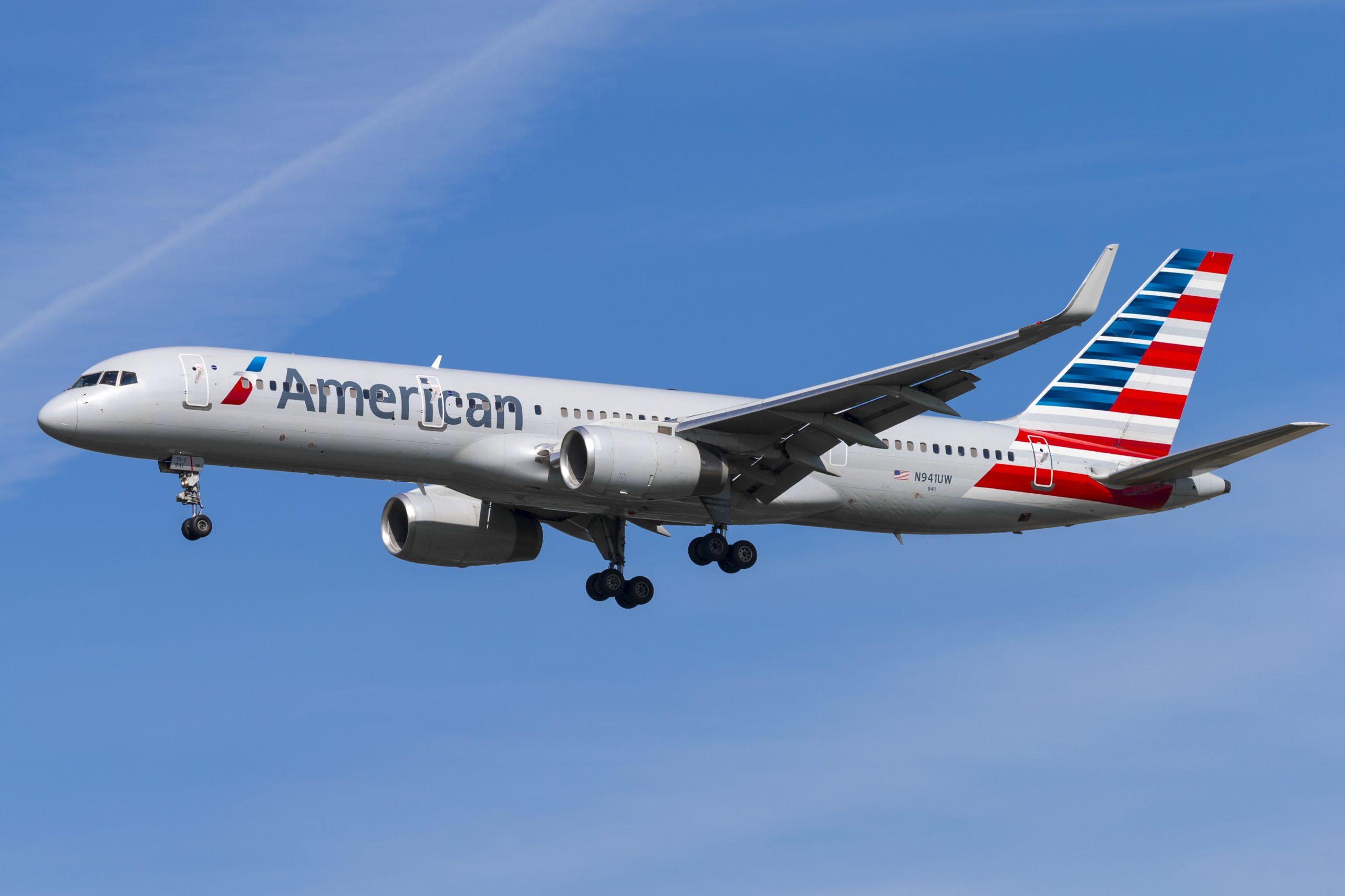 Boeing 757-200 fra American Airlines. (Foto: © Thorbjørn Brunander Sund | Danish Aviation Photo)