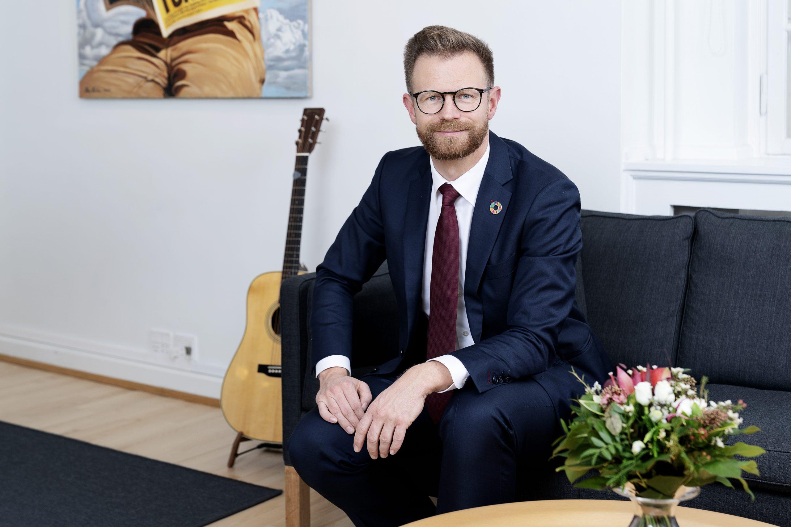 Transportminister Benny Engelbrecht. (Foto: Claus Bech)
