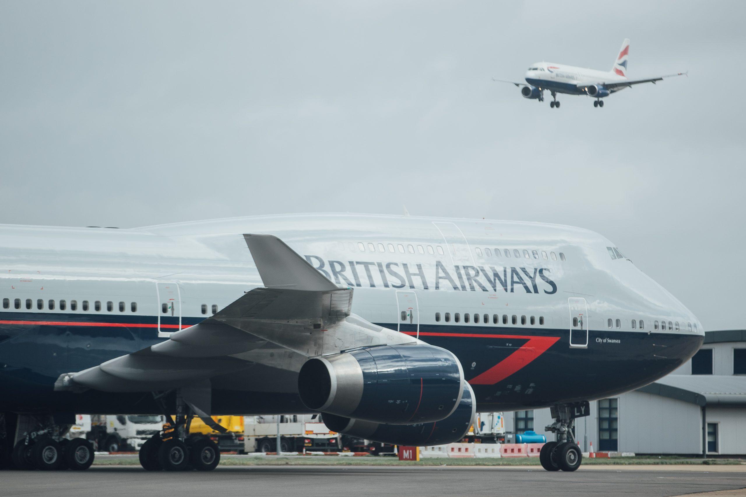 Boeing 747 i det ikoniske Landor-livery. (Foto: Nick Morrish/British Airways)