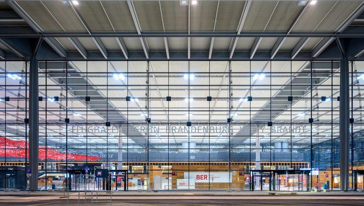 Berlin Brandenburg Airport åbnede i oktober 2020. Foto: Flughafen Berlin Brandenburg (FBB)