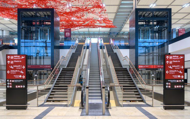 Berlin Brandenburg Airport er den tyske hovedstads nye storlufthavn. Foto: Flughafen Berlin Brandenburg (FBB)