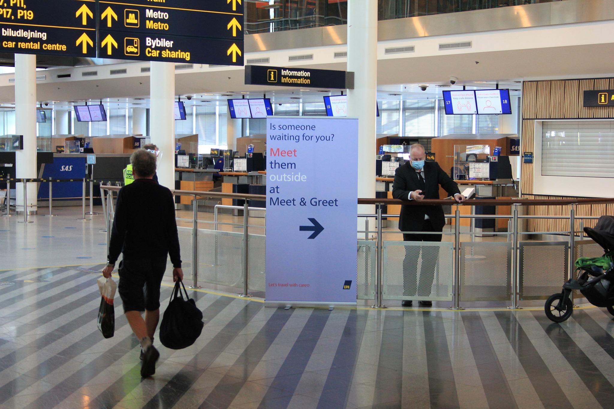 Ankomstområdet i Terminal 3 i Københavns Lufthavn. (Foto: CPH)
