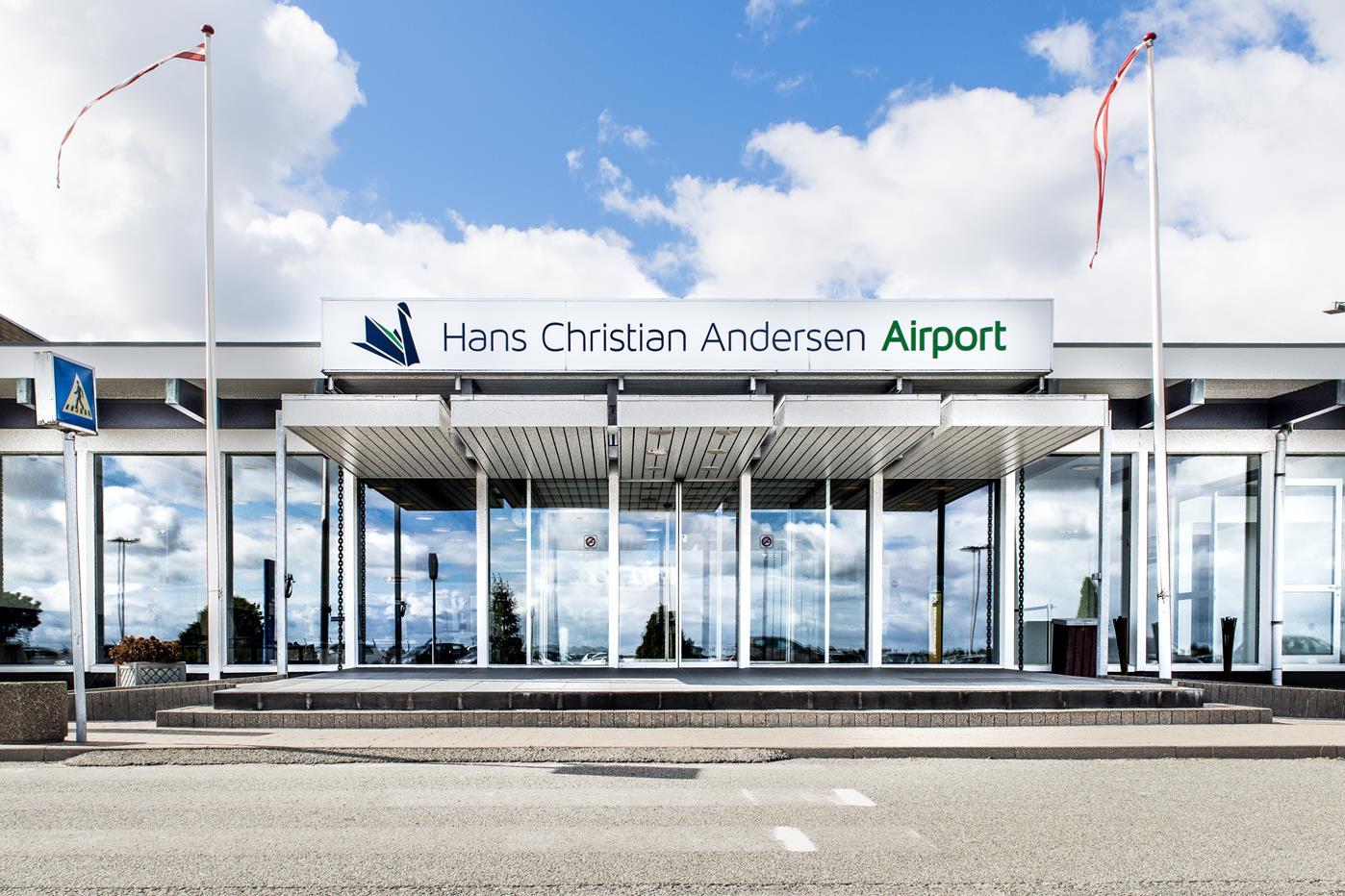 Hans Christian Andersen Airport i Odense. (Foto: HCA Airport)