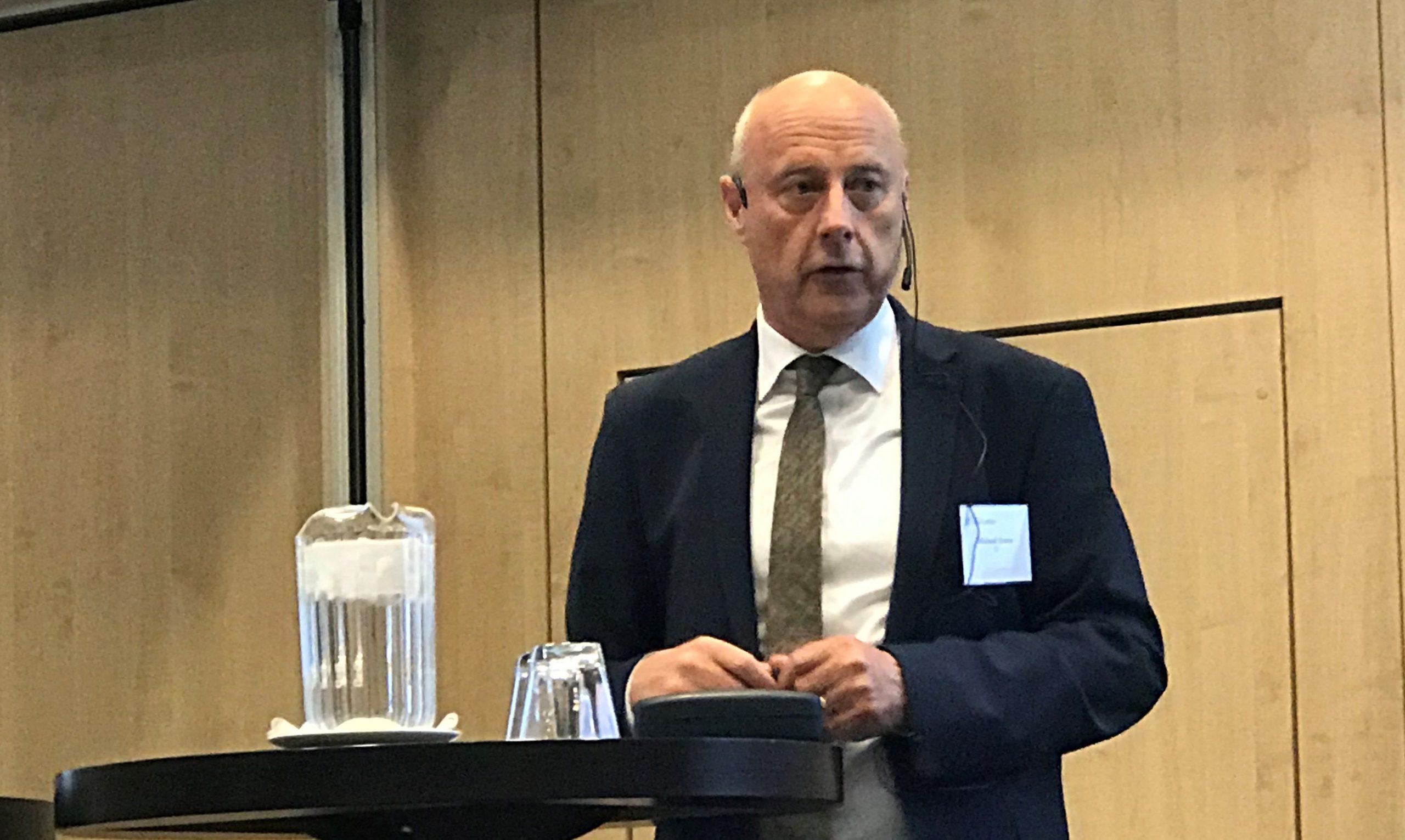 Branchedirektør Michael Svane fra DI Transport. (Foto: Ole Kirchert Christensen)