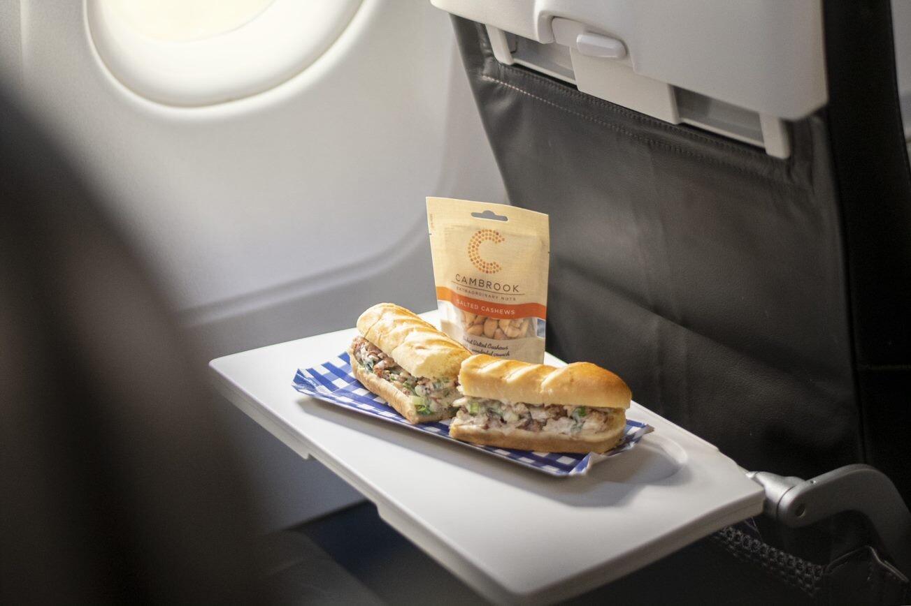 Stjernekokken Tom Kerridge har skabt ny mad til passagererne hos British Airways. Foto: British Airways