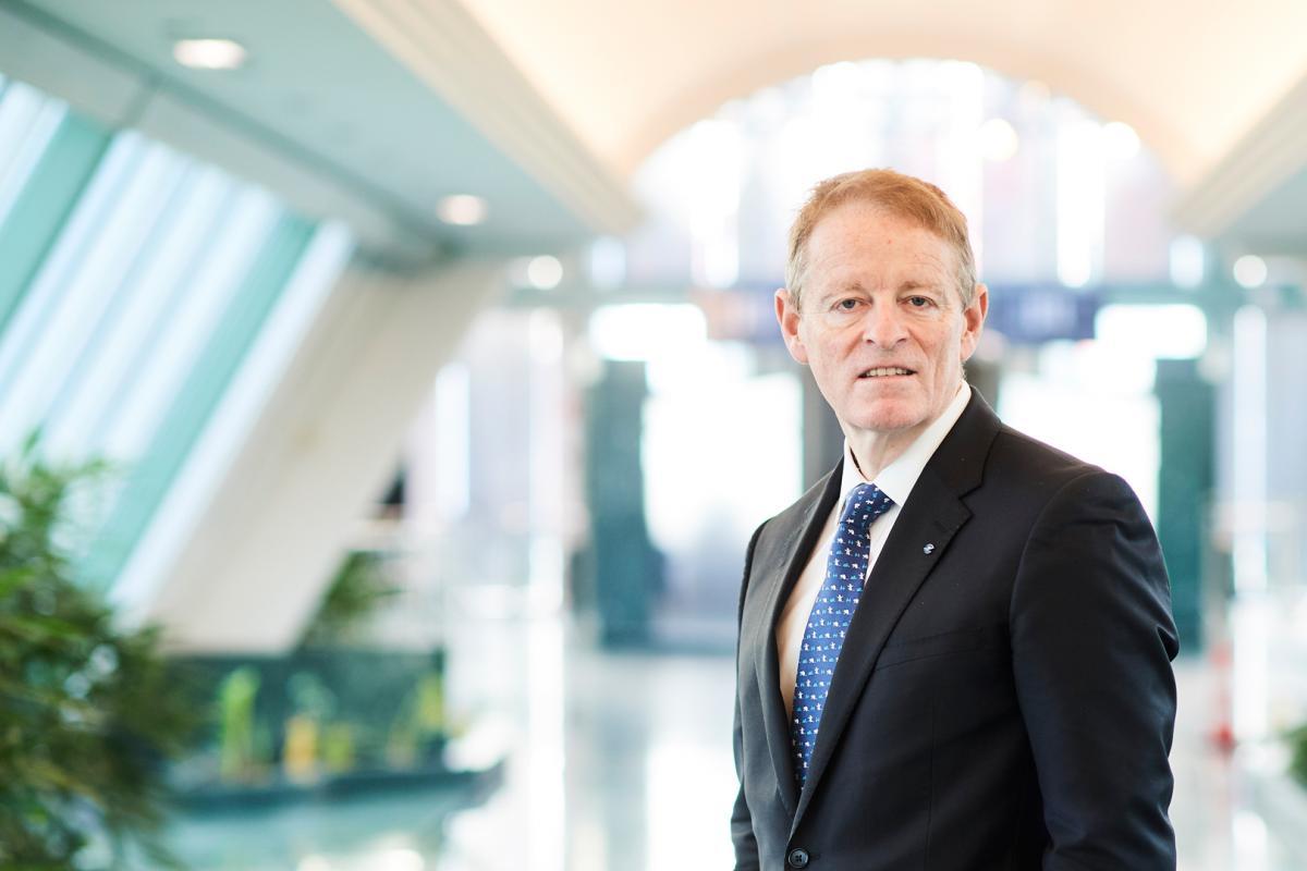 Eamonn Brennan, direktør for Eurocontrol. (Foto: Eurocontrol  | PR)
