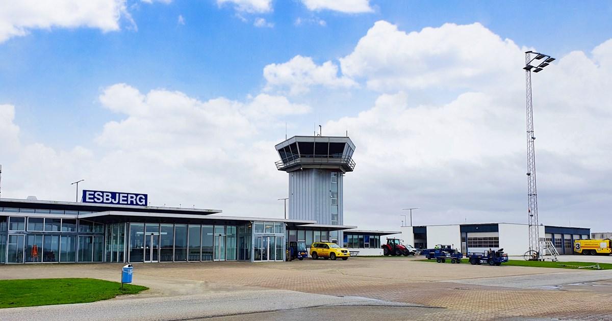 Esbjerg Lufthavn. (Foto: SOS International)