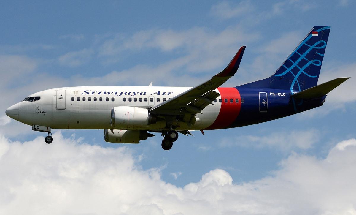 Boeing 737-500-ulykkesflyet fra Sriwijaya Air med registreringen PK-CLC. (Foto: Gusti Fikri Izzudin Noor)