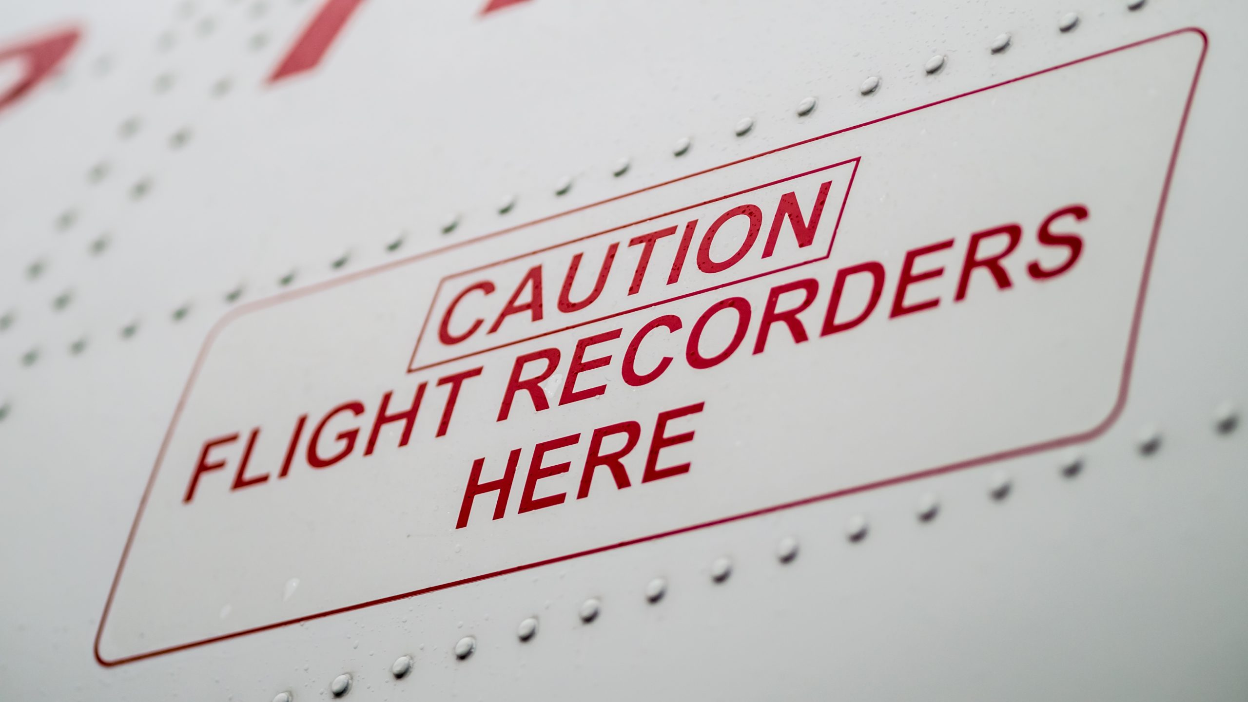 Passagerfly er udstyret med to Flight Recorders – også kaldet sorte bokse. (Foto: shutterstock_186405521)