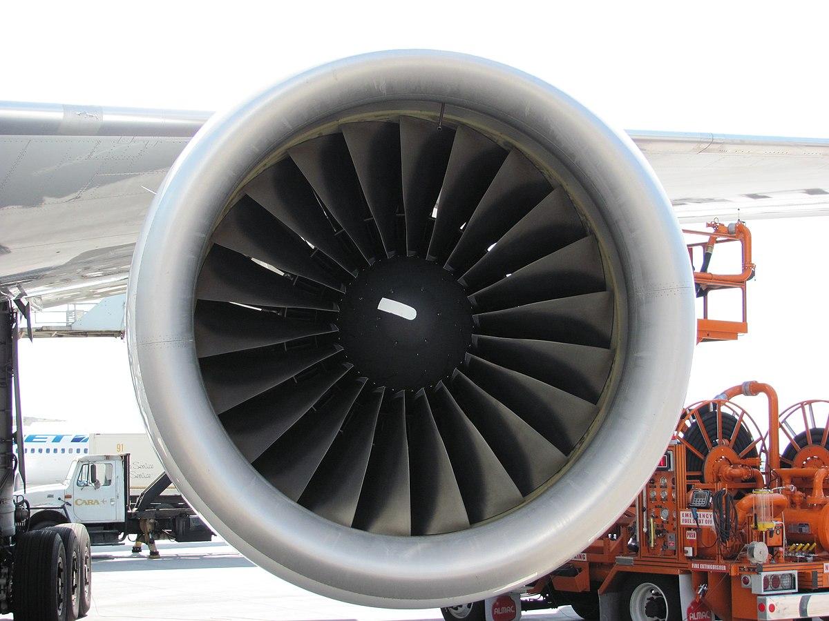 Pratt & Whitney PW4000-112 motor med 22 fanblade. (Foto: RAF-YYC | CC 2.0)