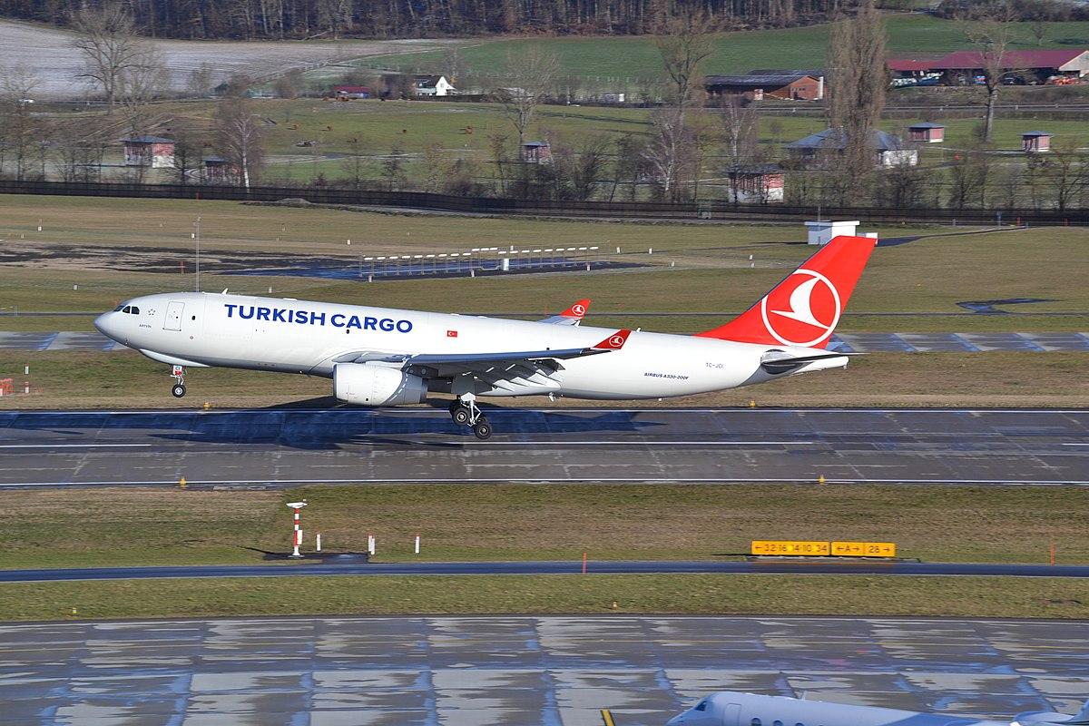 Airbus A330-200 flyet fra Turkish Airlines under en tidligere landing i Zürich. (Foto: Alec Wilson  | CC 2.0)