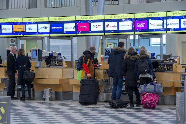 Check-in-område i Billund Lufthavn. (Arkivfoto: Billund Lufthavn